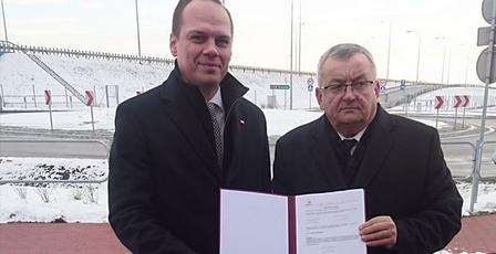 Podpisanie umowy na zaprojektowanie i zbudowanie odcinka drogi ekspresowej S19 z Sokołowa Małopolskiego do Kamienia